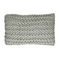 NITTU - cushion - acrylic - L 50 x W 30 cm - light grey