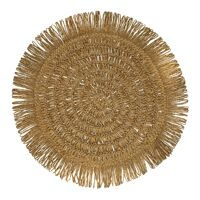 GYULA - set de table - papier - DIA 40 cm - camel