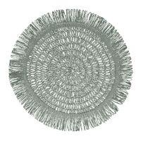 GYULA - set de table - papier - DIA 40 cm - gris vert