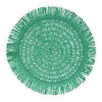 GYULA - placemat - paper - DIA 40 cm - mint