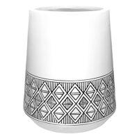 MILO - cache-pot - magnesium oxide - DIA 35 x H 50 cm - blanc