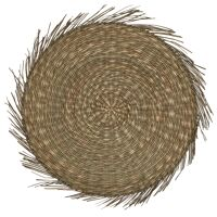 TRESSE - placemat - seagrass - DIA 38 cm - naturel