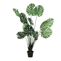 JUNGLE FEVER - artificial plant - synthetic / metal - H 160 cm - green