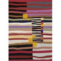 PARAYO - canvas - linnen - L 100 x W 4,5 x H 140 cm - veelkleurig
