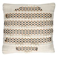 OUJDA - cushion - cotton - L 45 x W 45 cm - white