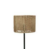 CORFU - lampenkap - jute / metaal - DIA 19 x H 15 cm - naturel