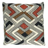TOUDOU - cushion - cotton - L 45 x W 45 cm - multicolor