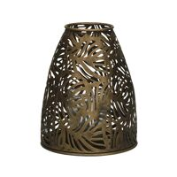LIEF - lantern - iron / glass - DIA 13 x H 16 cm - gold