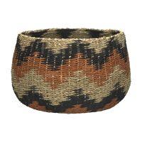 ROX - basket - paper - DIA 32 x H 23 cm - multicolor