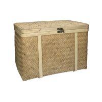 SELALU - basket - bamboo - L 50 x W 35,5 x H 35,5 cm - natural