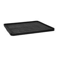 SHADOW - tray M - bamboo / wood - L 40 x  W 40 x H 2 cm - black