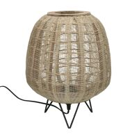 LOKKEN  - table lamp - bamboo - DIA 42 x H 52 cm - natural