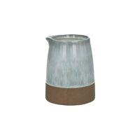 PERUGIA - karaf - aardewerk - DIA 12 x H 15 cm - lichtgrijs