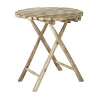 HAVANA - table - bois de teck - DIA 70 x H 76 cm - naturel
