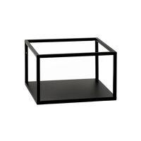 ESZENTIAL - rack - metal - L 34,5 x W 30 x H 30,5 cm - black