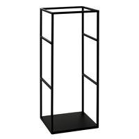ESZENTIAL - rack - metal - L 34,5 x W 30 x H 80 cm - black