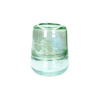 RIO - vase - verre - DIA 13 x H 18 cm - aqua