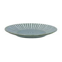ASANA - dessert plate - porcelain - DIA 22 cm - grey blue