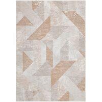 TERRA ASTER - buiten tapijt - polyester / decolan vezel - L 170 x W 240 cm - veelkleurig