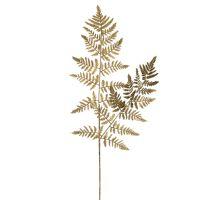 CYPRESS - kunstmatig blad - metaal - H 82 cm - goud