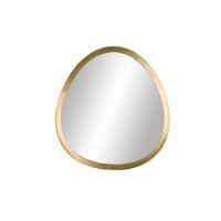 ORGANIC - spiegel - metaal - L 34,5 x  W 2,75 x H 37,5 cm - brass