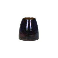ZINGARO - hurricane - glass - DIA 9 x H 9 cm - purple