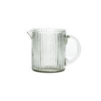 DORI - carafe - recycled glass - L 12 x W 8 x H 10 cm - clear