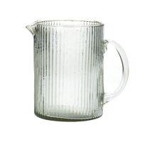 DORI - carafe - recycled glass - L 19 x W 12 x H 17 cm - clear
