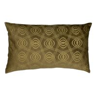 VERSAILLES - cushion - velvet - L 50 x W 30 cm - gold