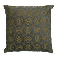 VERSAILLES - cushion - velvet - L 45 x W 45 cm - silver