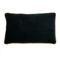 VERSAILLES - cushion - velvet - L 50 x W 30 cm - navy blue