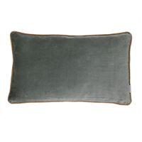 VERSAILLES - coussin - velvet - L 50 x W 30 cm - argent