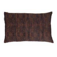 ANTOINETTE - cushion - cotton - L 50 x W 30 cm - blue