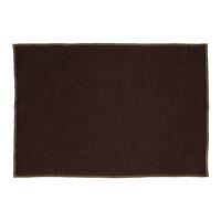 LA FÊTE - set/4 placemats - linnen / katoen - L 48 x W 33 cm - bruin