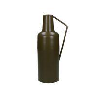 CLYDE - vase - metal - DIA 10 x H 30 cm - brown