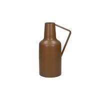 CLYDE - vase - metal - DIA 10 x H 24 cm - camel