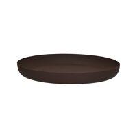 GRAVEL - platter - metal - DIA 37 x H 4 cm - rust