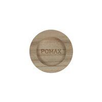 PURE - dessous de bougie - bois de paulownia - DIA 7,5 x H 2,5 cm - naturel