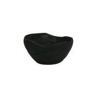 ONDA - bowl - paulownia wood - DIA 15 x H 7,5 cm - black