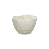 ONDA - bol - bois de paulownia - DIA 15 x H 12 cm - blanc