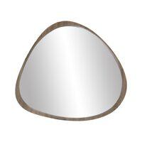 VIK - spiegel - mdf / grenen fineer - L 77 x W 4,5 x H 71 cm - taupe