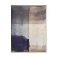 LE VASE - canvas met kader - canvas / hout - L 100 x  W 4,3 x H 140 cm - blauw