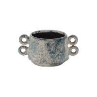 NUBLO - vase - céramique - L 19 x W 13,5 x H 9 cm - mix de couleurs