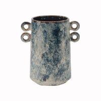NUBLO - vase - céramique - L 20,5 x W 14 x H 21 cm - mix de couleurs