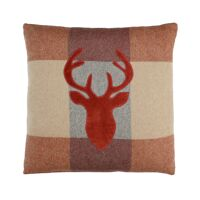 FALKIRK - cushion - wool / velvet - L 45 x W 45 cm - mix of colours