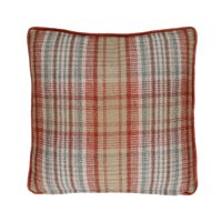 FALKIRK - cushion - wool / velvet - L 45 x W 45 cm - mix of colours