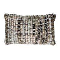 SAVONA - cushion - acrylic - L 50 x W 30 cm - grey