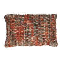 SAVONA - cushion - acrylic - L 50 x W 30 cm - orange