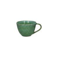 TREILLE - mug - stoneware - DIA 10,5 x H 7 cm - green