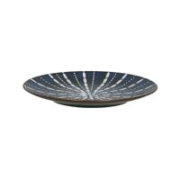 COSMO - assiette à dessert - porcelaine - DIA 21,5 x H 2 cm - bleu